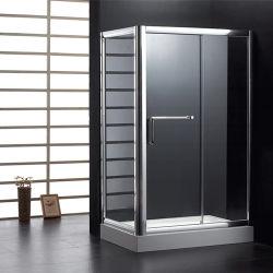 Acryltellersegment-und ausgeglichenes Glas-Dusche-Tür für Badezimmer verwendete (6608)