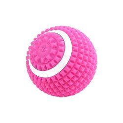 Amazon recargable caliente pie trasero de percusión corporal el alivio del dolor músculo Fitness Yoga Masaje de vibración de rodillos eléctrico Ball