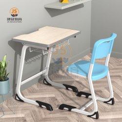 Le métal en bois MDF Étudiant en classe et une chaise de bureau Mobilier scolaire