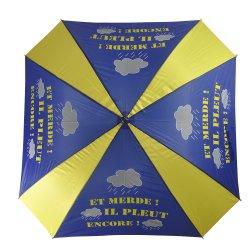 La Plaza de tamaño estándar de fibra de vidrio en forma de paraguas de Golf de bastidor abierto manual