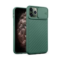 ユニバーサル完全な耐震性レンズのスライドのシリコーンのカメラiPhone 11プロ最大X Xr Xsのケースのための保護柔らかいTPUの携帯電話の箱