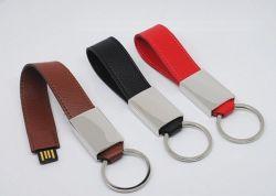 Última unidad Flash USB Pulsera de cuero (OM-L822)