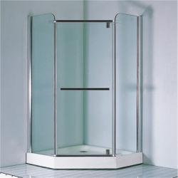 Casella di vetro completa semplice cromata 900 della baracca dell'acquazzone