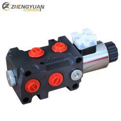 50 90L/M Klep 6/2 van de Verandering van de Solenoïde van de Stroom 12V/24V Hydraulische met Stop DIN