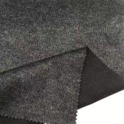 Yigao 직물 R/T Elastic Black Silk Bottom Rome 패브릭 싱글 얼굴 뼈 피어싱 니트 패브릭