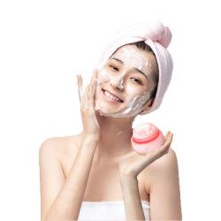El uso diario de cepillos de limpieza facial eléctrico resistente al agua limpia de silicona de electrónica de vibración sónica rostro exfoliar el cepillo con la certificación de la FCC RoHS CE
