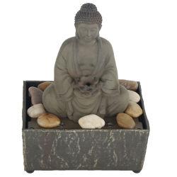 изготовленный на заказ<br/> мини-Home для использования внутри помещений таблица стиле Art полимера Будды фонтаном с камнями