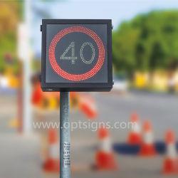 Radar-Geschwindigkeits-Zeichen der En12966 Verkehrssicherheit-LED