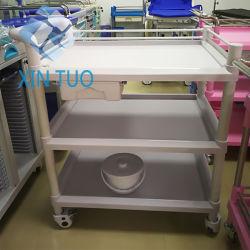 Karretje van de Verzorging van de Ochtend van het Staal Pricestainless van de fabriek het Directe voor het Meubilair van het Ziekenhuis