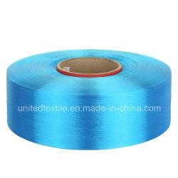 100% filato del filamento Stimolante-Tinto poliestere con il POY di deviazione standard 150d/144f