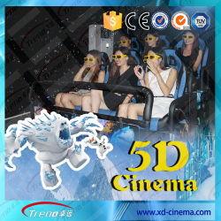 Filmes de cinema 5D entretenimento emocionante Fornecedor 5D Cinema removível (ZY-5D)