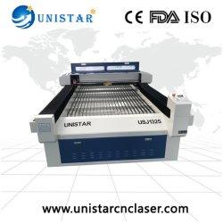合板、MDFのプラスチック、ペーパー、ボール紙のための4*8 Usj1325 60With90With130With150With180Wレーザーのカッターの/Laserの打抜き機