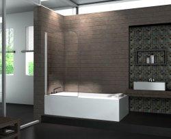 Дешевые цены комната Китай закаленное стекло душ в ванной экран Nano