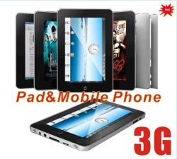 3G WiFi téléphone Android 2.3 W7 Tablet PC