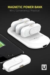 Nova chegada Banco energia magnética portátil universal 9000mAh recarregável Bateria inteligente de Emergência