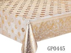 Fábrica XHM resistente a manchas de alta qualidade Gofragem toalha plástica impresso para o material