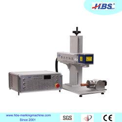 Mini macchina per marcatura laser con pompa da tavolo da 10 W.
