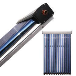 가압된 히트 파이프 튜브 태양열 패널을 열로 배출합니다 파이프 콘덴서 직경 24mm