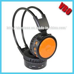 Casque sans fil pliable Player MP3 avec carte SD pour casque sans fil Bluetooth