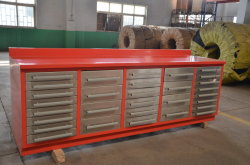 Workshop Garage Tool Cabinet con Stainless Steel Handles