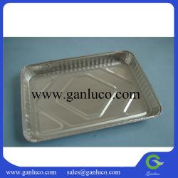 Прямоугольник размером 327*228*33мм емкость 1640мл гриль из алюминиевой фольги для выпекания пластину