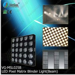 Vangaa 5X5 LED Beam Matrix Blinder (VG-MSL025B)