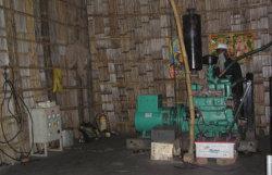 Резервное копирование 240 В/380 В/400 В Дерево мощность турбины промышленных газовых генераторов с цены со скидкой