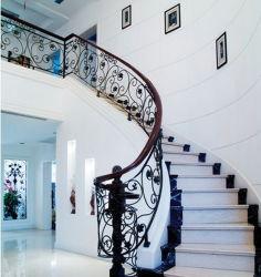屋内Wrought Iron Stair Railing DesignかInterior Stair Railings