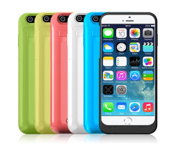 iPhone 6 백업 충전기 케이스용 3500mAh 외부 배터리 케이스