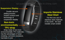 Elegante pulsera Bluetooth Smart