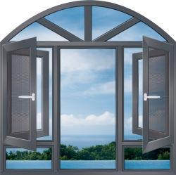 機密保護の建築材料AluガラスのWindowsアルミニウムCasemen Windows