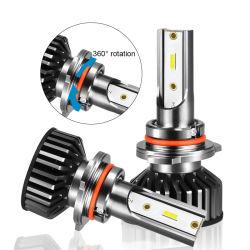 Fari abbaglianti ultraluminosi 16000lm LED per auto lampadina per fari Mini H3 H1 H11 880 9005 9006 H13 H4 H7 LED, Auto H4 H7 F2 Faro a LED