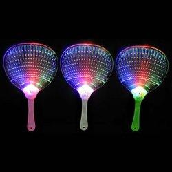 LED lampeggiante luce lampeggiante ventola manuale piatta multicolore lampeggiante