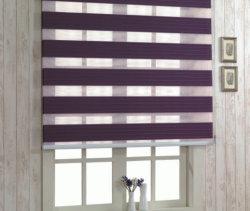 Tissu décorative simple Jour et Nuit Zebra Stores rideaux Rainbow