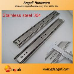 新しい! 高品質のステンレス鋼の引出しはステンレス鋼SUS304 Ssを滑らせる