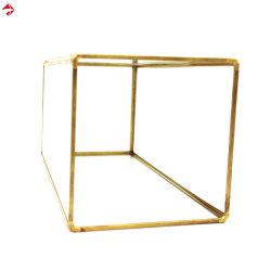 Juego de 3 linterna cuadrada geométrica de cristal terrario para regalo de boda