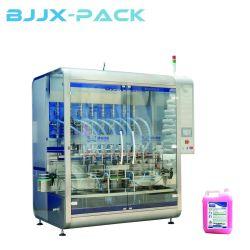 Cabeças múltiplas 12 bocais de enchimento líquido Máquina / Vtops extravasamento automático garrafa de líquido para enchimento de sumo de bebidas