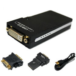 Suporte para USB2.0 para HDMI / DVI ou VGA do catalisador