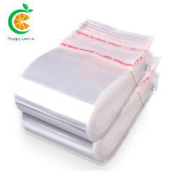 OEM 사용자 지정 로고 cellophane Polybag 자체 접착식 OPP 백 재밀봉이 가능합니다