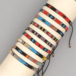 Mlgm Miyuki Kreuz Muster Armband Religiösen Schmuck Freundschaft 2021 Strand Imitation Piercing Feine Armbänder Geschenkschmuck Böhmische Urlaub Pulsera