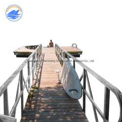Lista de precios de productos de China Pontón dique flotante de aluminio de Guangzhou pasillo para Dock