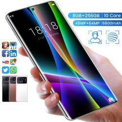HD schermo curvo 4+64 GB Android 10 cellulare originale Smart Cellulare HD schermo curvo Android 10 cellulare