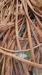 銅線のスクラップ99.9%の銅のスクラップの銅線の銅の陰極の真鍮の丸棒