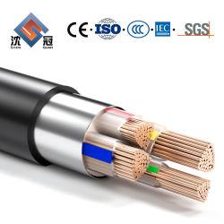 Cavo elettrico blindato Shenguan a 4 conduttori per attività sotterranee da 25 mm Cavo di alimentazione da 35 mm 50mm 70mm 95mm 120mm 185mm 240mm 300mm