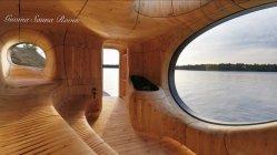Cedro conservantes naturales Sauna junta