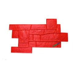 Forma sob forma de tijolo Pavimentao paraense Carimbos de moldes de silicone de concreto de ladrilhos de betão Pavimentadora de concreto para pavimentação de plástico de Moldes Moldes Moule Caraux Moldes para concreto