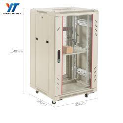 18Red de 19 pulgadas u armario ignífugo insonorizadas armario de servidores en rack