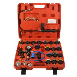 Sistema de refrigeración automática universal 28pcs depósito de agua del radiador de detector de fugas de comprobador de presión
