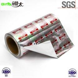 Foglio di alluminio alluminio e foglio di PVC farmaceutico PTP foglio di alluminio Per confezioni blister