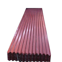 금속 지붕 타일 건물 재질 Iron Gi PPGI 냉연 컬러 아연 코팅 갈바니화 사전 도색된 골판형 강철 지붕판